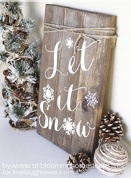 24 Winter Decor After Christmas