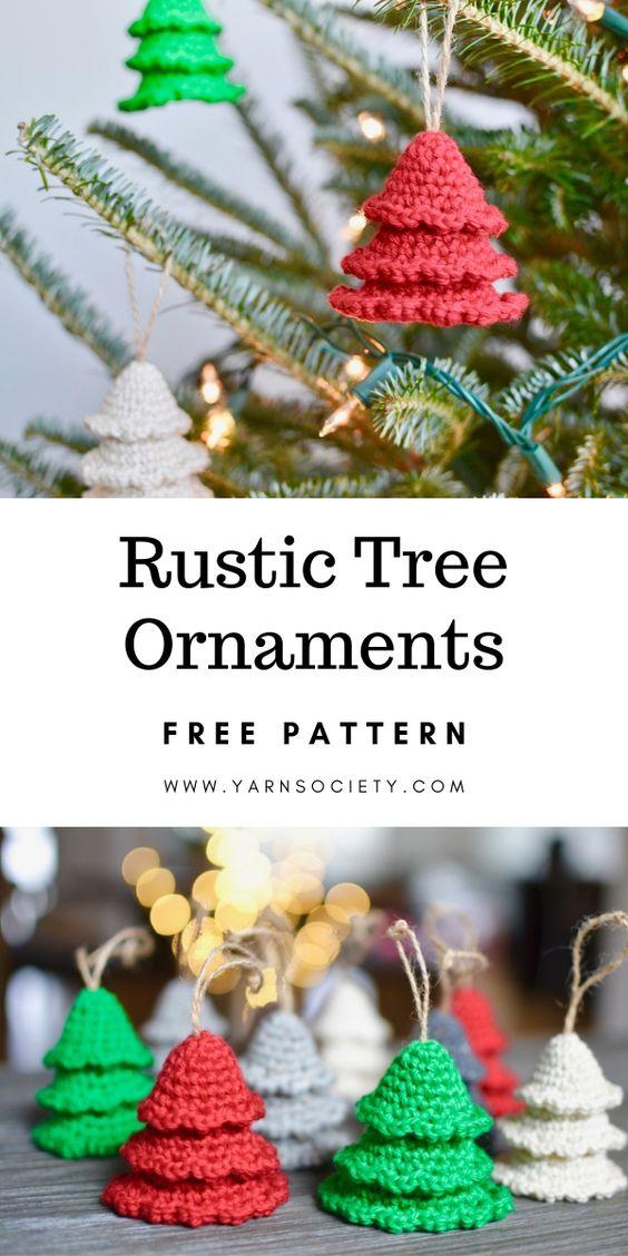 30 Christmas Ornament Crochet Pattern