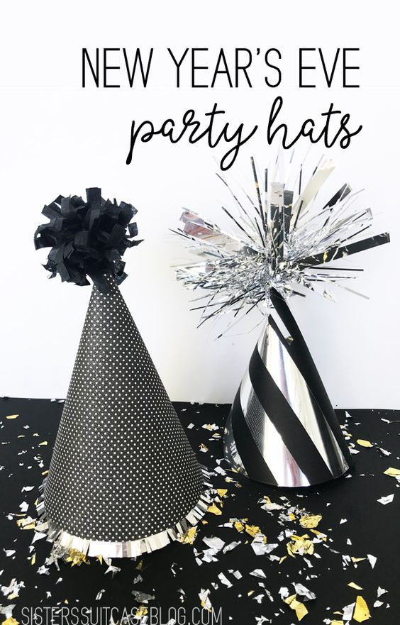 30 New Years Eve Party Hats