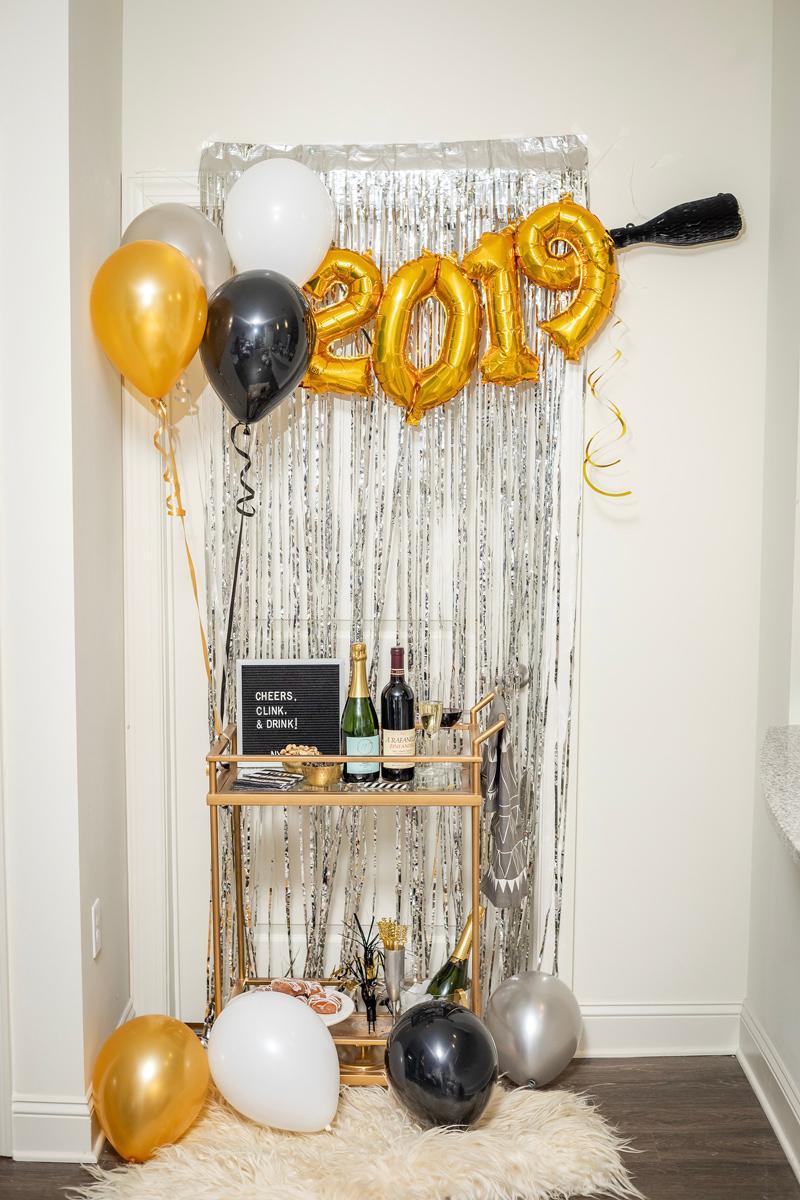 31 NEW YEARS EVE BAR CART IDEAS