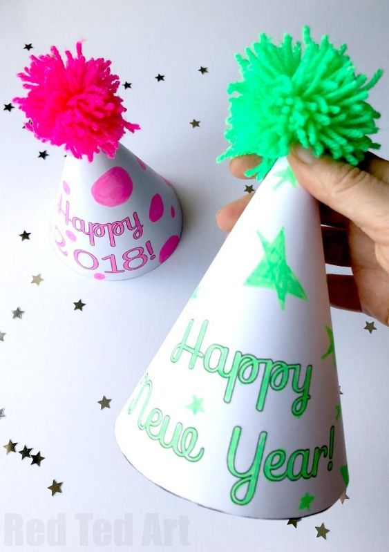 5 New Years Eve Party Hat
