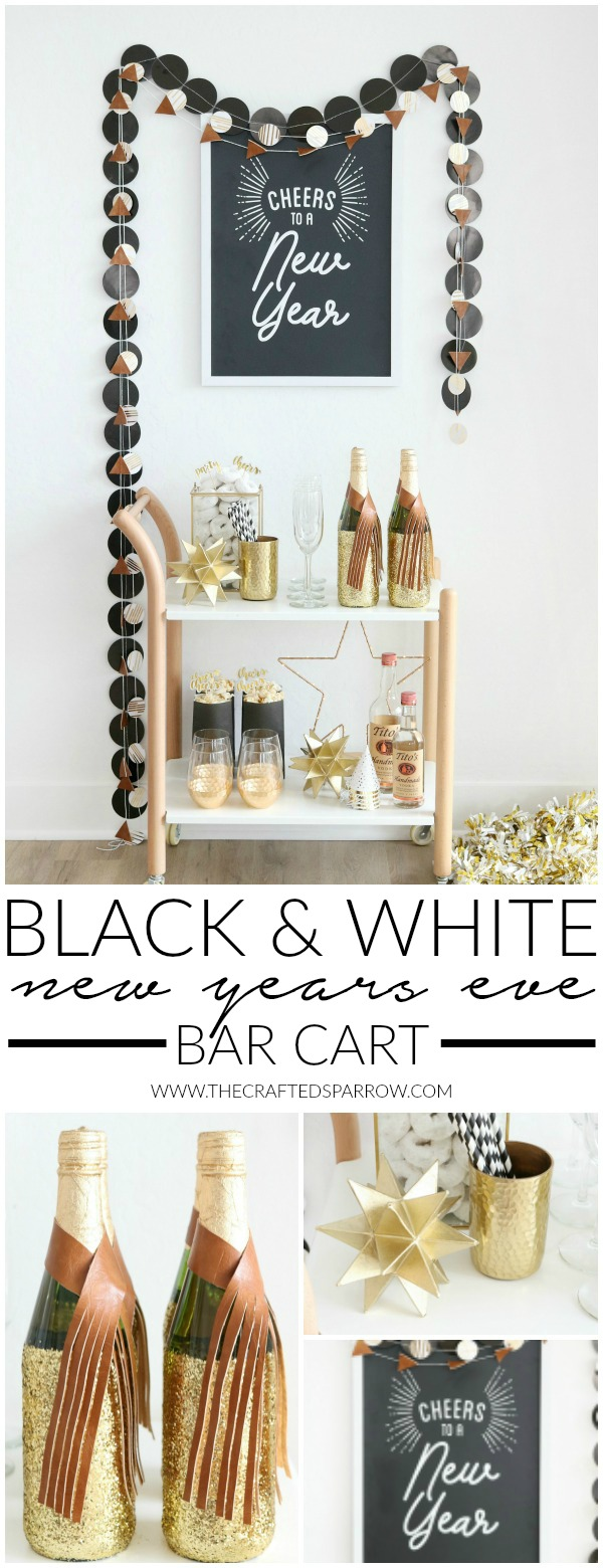 7 New Years Eve Bar Cart