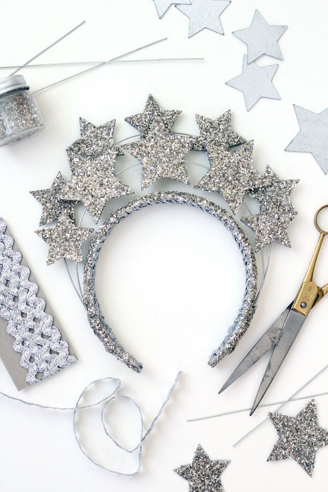 7 New Years Eve Star Crown