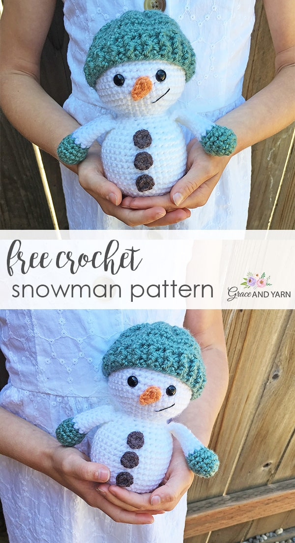 8 Free Crochet Snowman Pattern