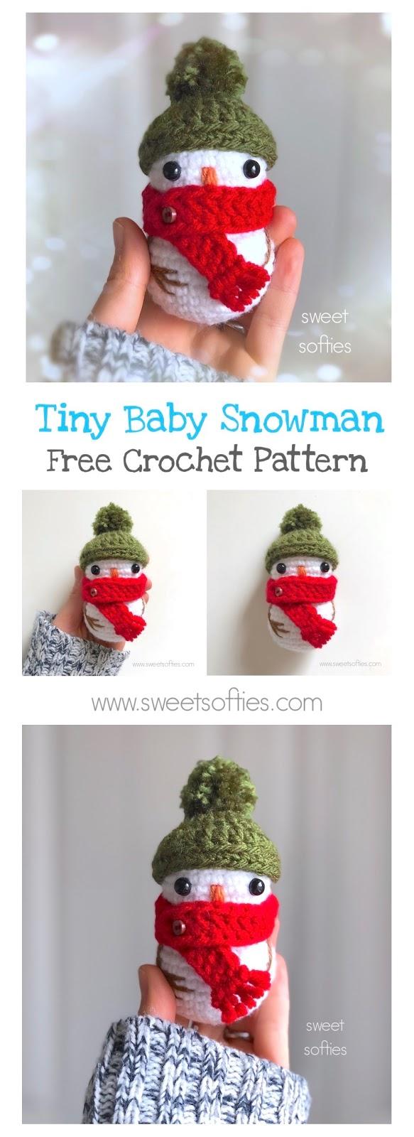 9 Tiny Baby Snowman