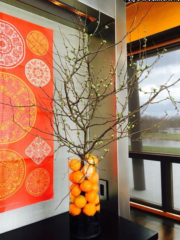 10 Chinese New Year Flower Decoration
