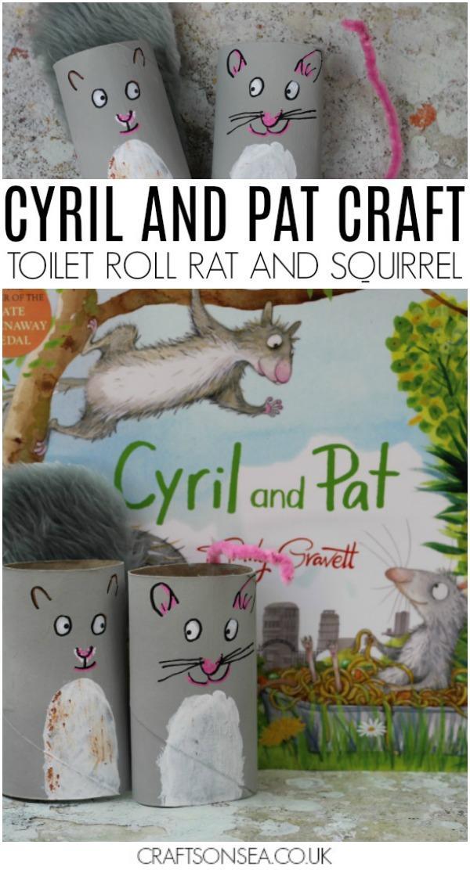 10 Toilet Roll Rat Craft