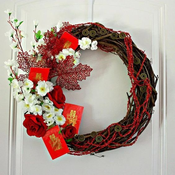 11 Chinese New Year Wreath