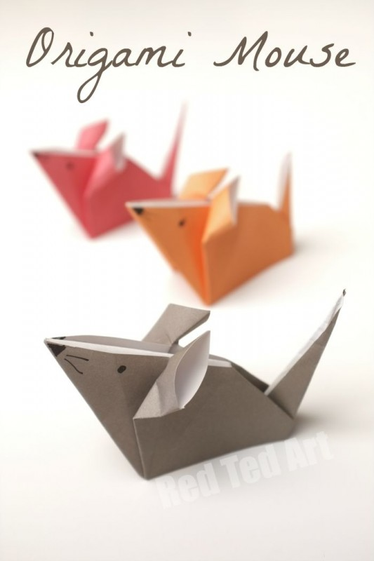 18 Origami Mice