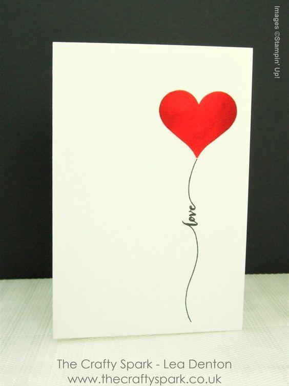 19 Super Simple Speedy Valentines Day Card