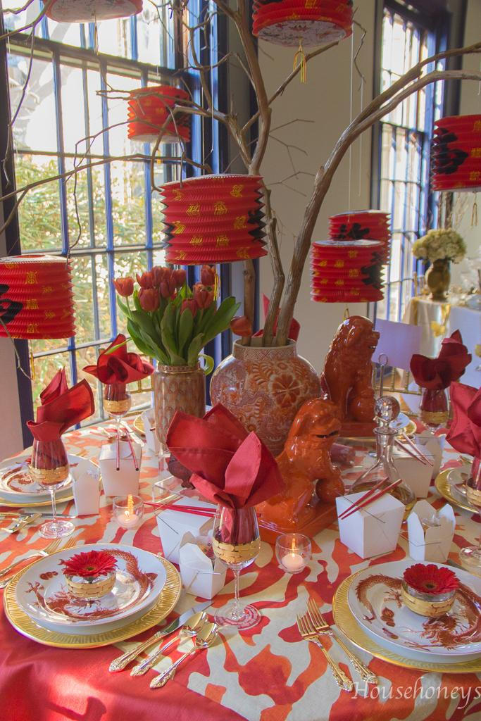 22 Inspired Table Decor for Chinese New Year
