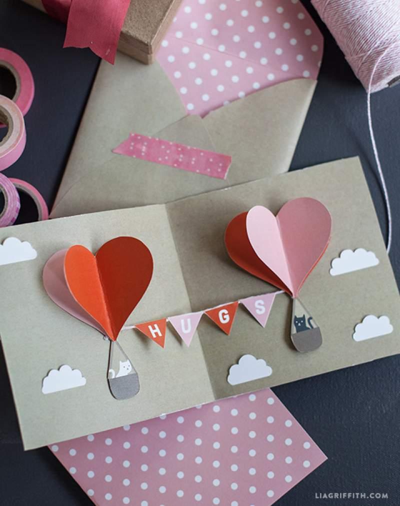 22 Valentines Day Pop Up Card