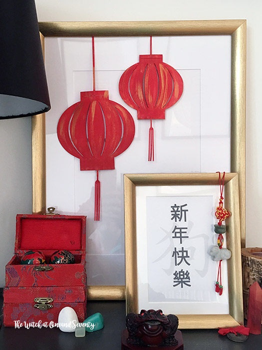 DIY Chinese New Year decorations
