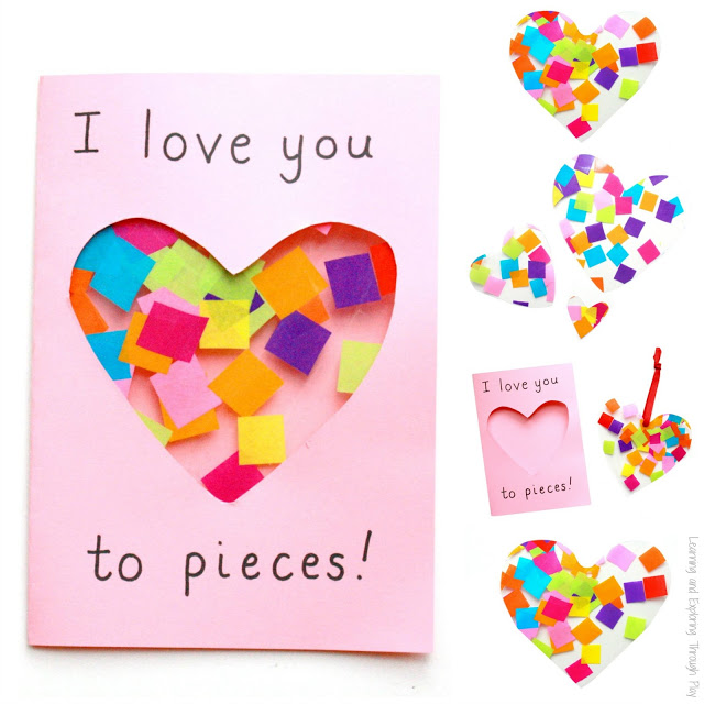 26 I Love You To Pieces Card