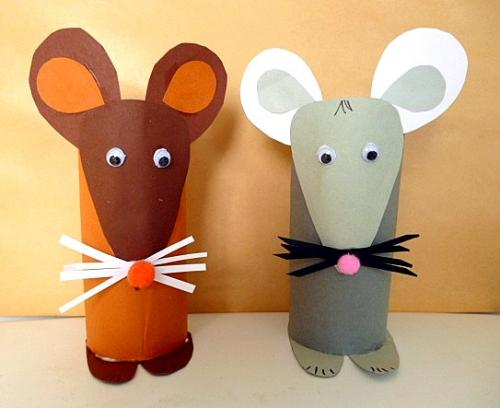 27 Toilet Paper Roll Mouse