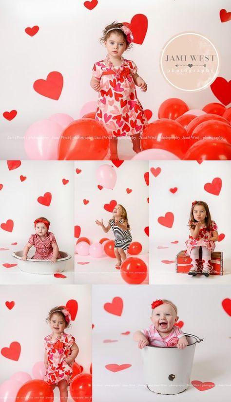 3 Valentines Day Photoshoot
