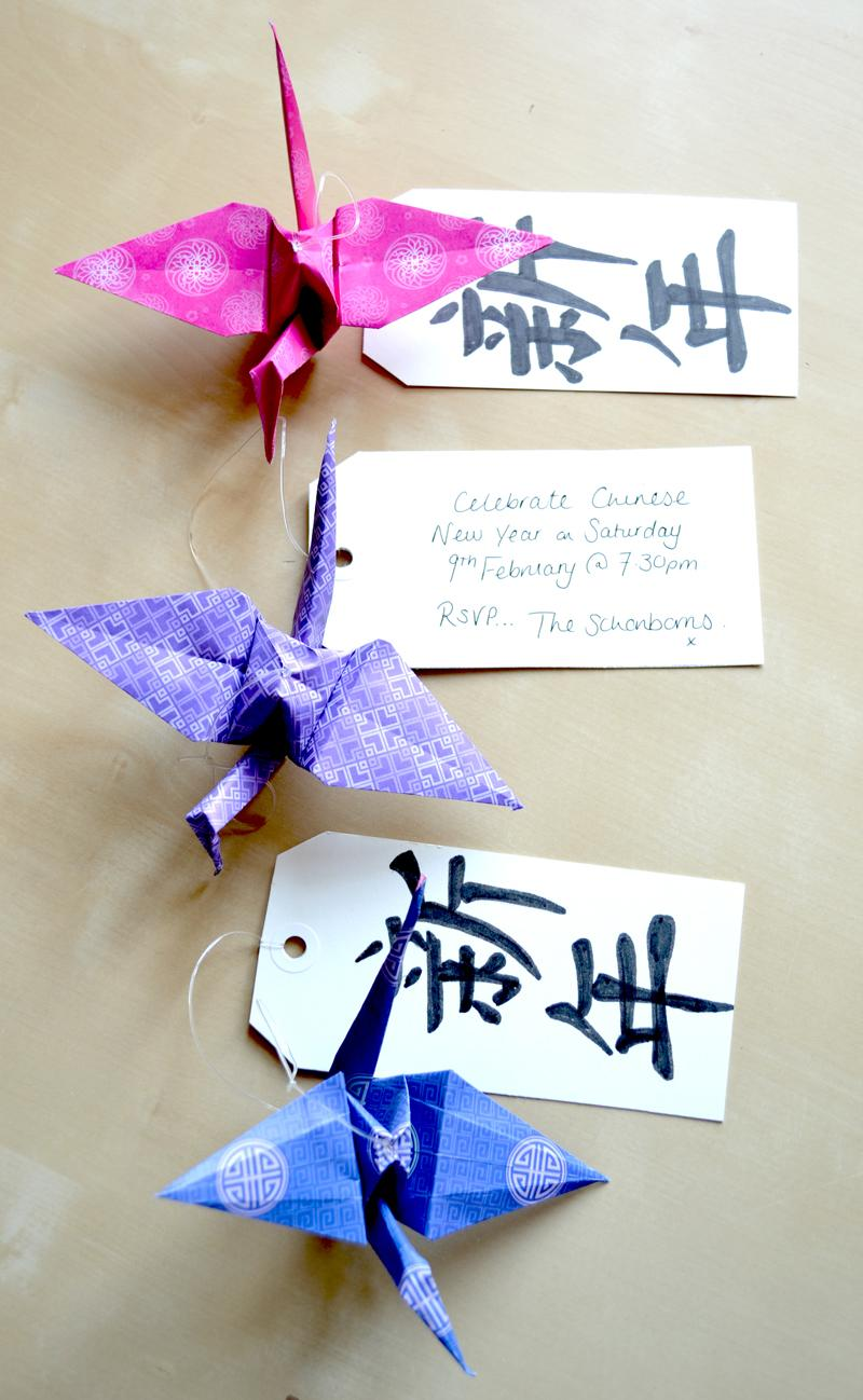 30 DIY Origami Invitations