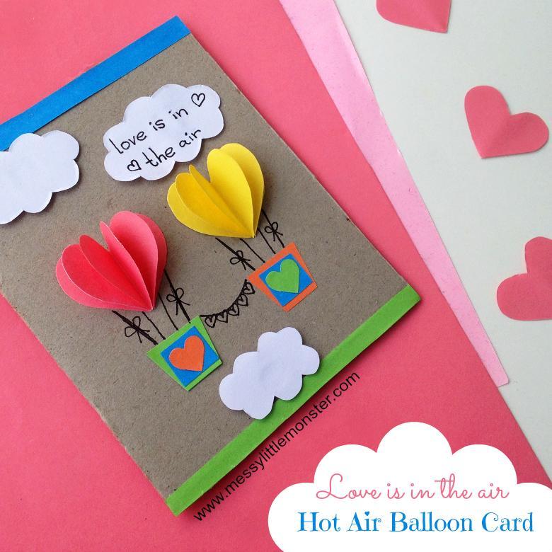 32 Hot Air Balloon Card
