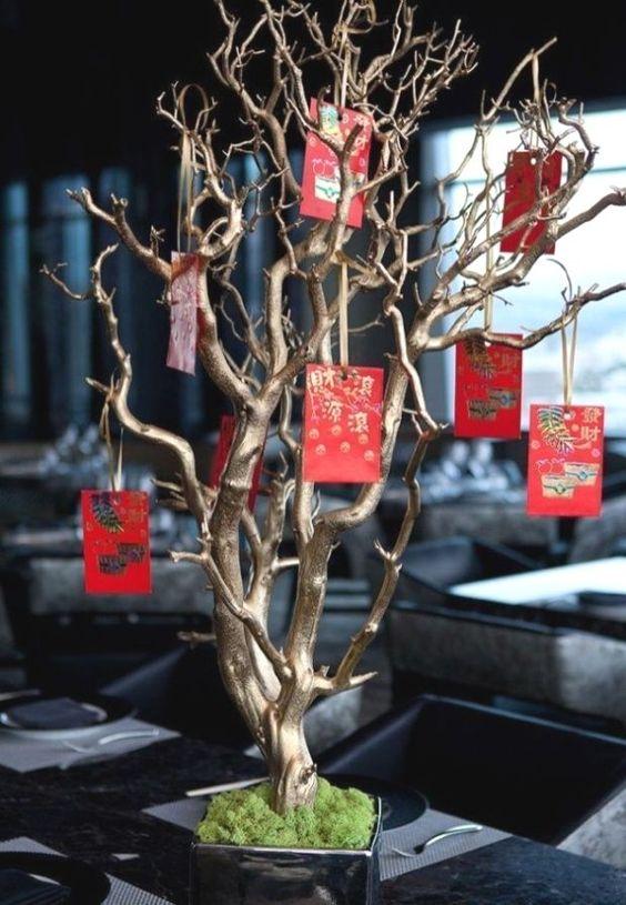 8 The tree full of Red envelopes