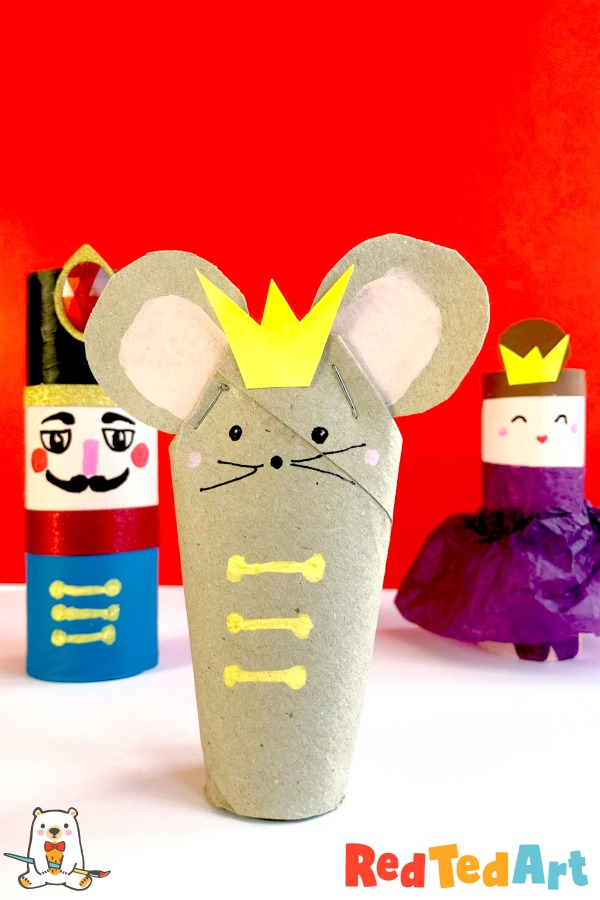 8 Toilet Paper Roll Mouse