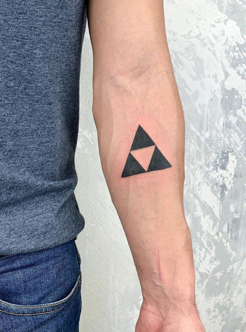 30 Pretty Geometric Tattoos You Can Copy
