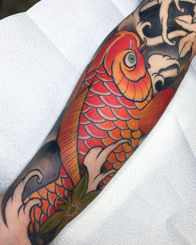 30 Pretty Koi Fish Tattoos You Must Try