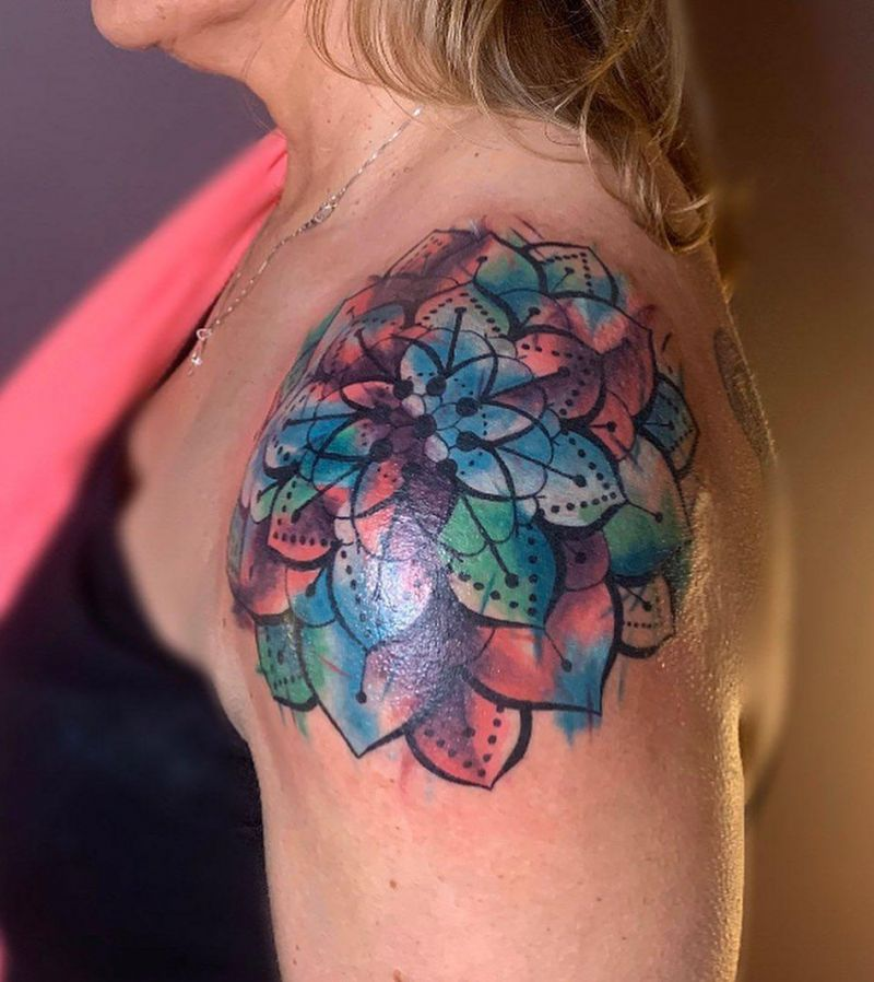 30 Pretty Mandala Tattoos You Must Try