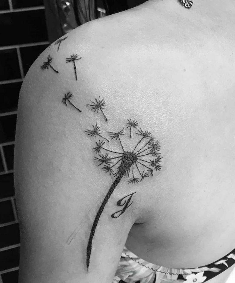 30 Pretty Dandelion Tattoos Make You Attractive