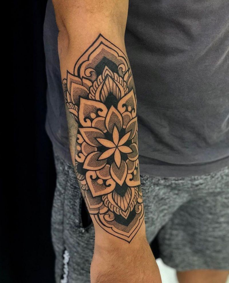 30 Pretty Mandala Tattoos You Must Try