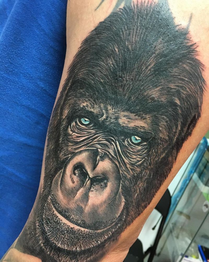 30 Cute Monkey Tattoos You Must Try