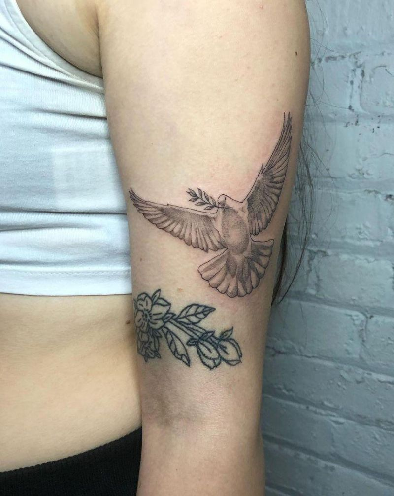 30 Pretty Dove Tattoos You Must Try