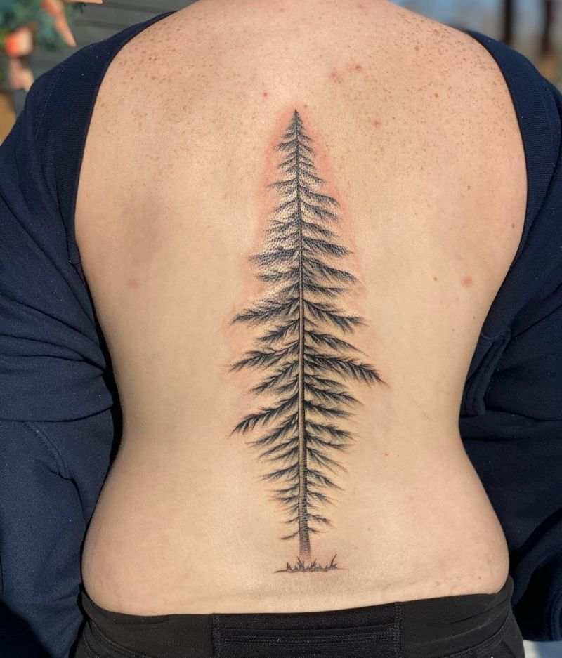 30 Elegant Spine Tattoos You Will Love