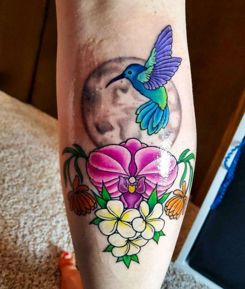 30 Cute Hummingbird Tattoos to Inspire You