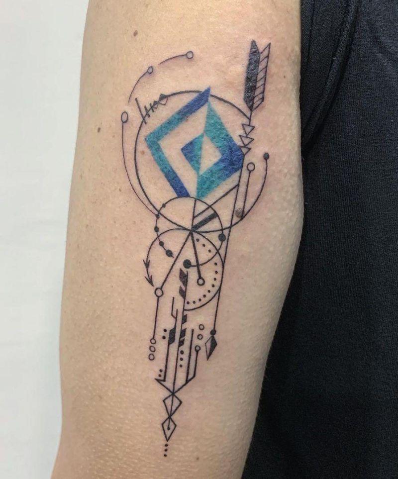 30 Pretty Arrow Tattoos to Inspire You