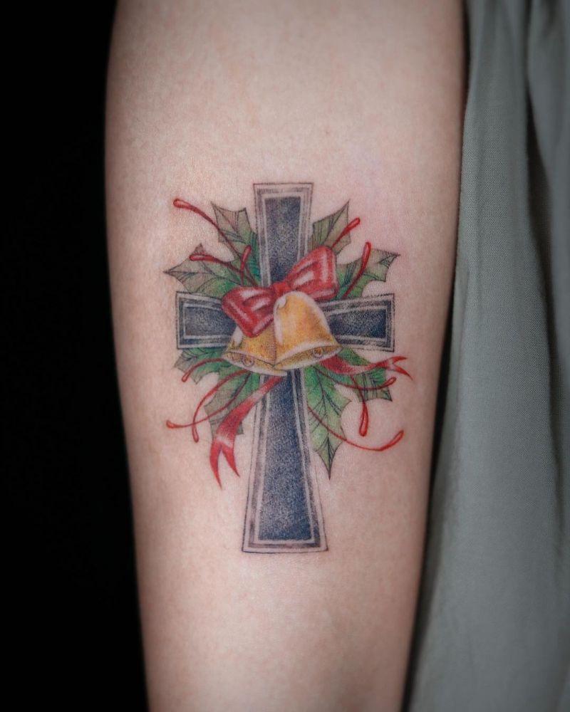 30 Creative Cross Tattoos You Can Copy
