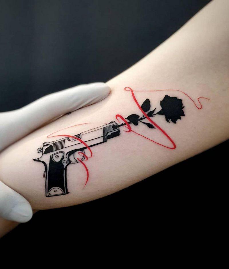 30 Pretty Rose Tattoos You Will Love