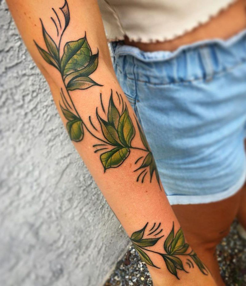 30 Elegant Vine Tattoos You Must Try