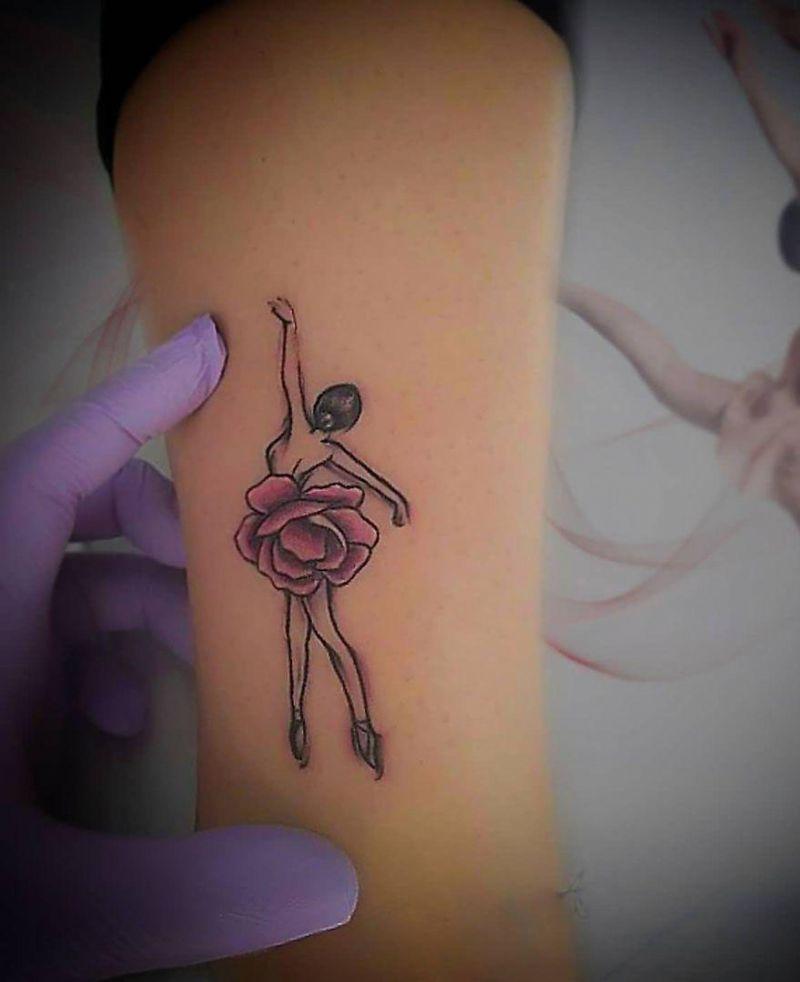30 Elegant Dancer Tattoos Makes You Charming
