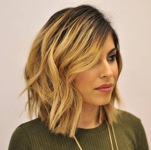 long choppy bob haircuts 50 inspiring bob hairstyles and haircuts page 38 5214 | 38 choppy long bob haircut