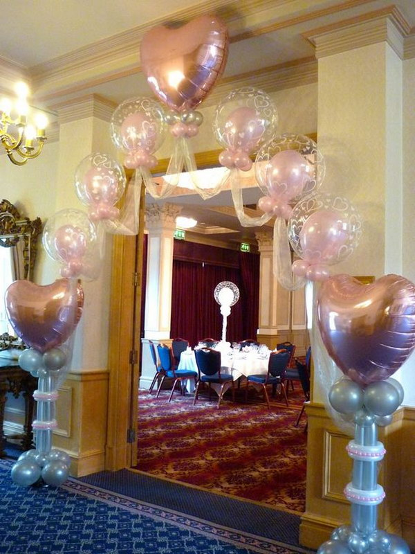 balloons for wedding decorations 21 beautiful balloon arch ideas page 19 foliver 1471