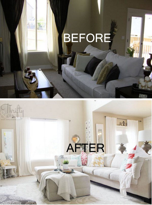 before and after living room makeovers 17 awesome before and after living room makeovers page 3 26246