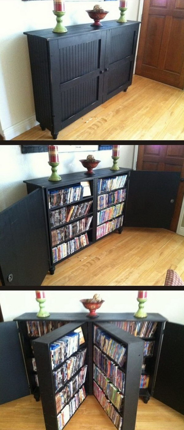dvd storage ideas 25 creative storage ideas for small spaces page 30764