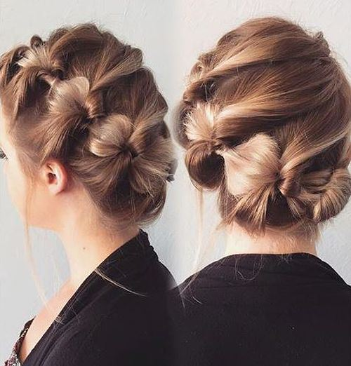 creative hair up styles 60 updos for hair your creative hair 4940 | 52 creative knotted updo