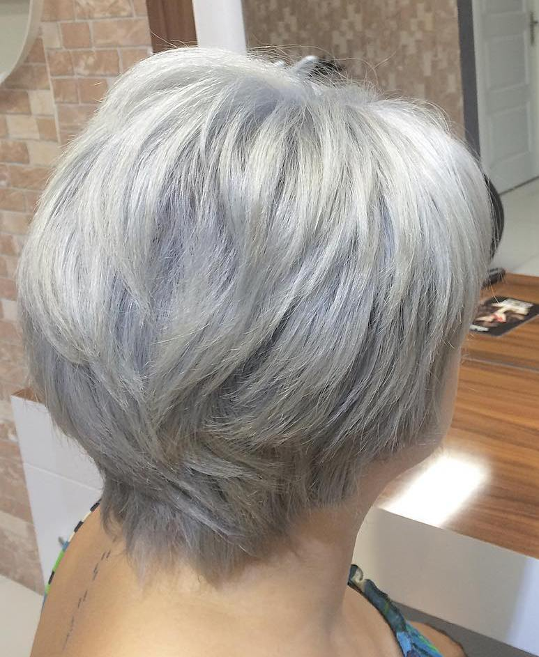 60 Gorgeous Grey Hair Styles - Page 29 - Foliver blog