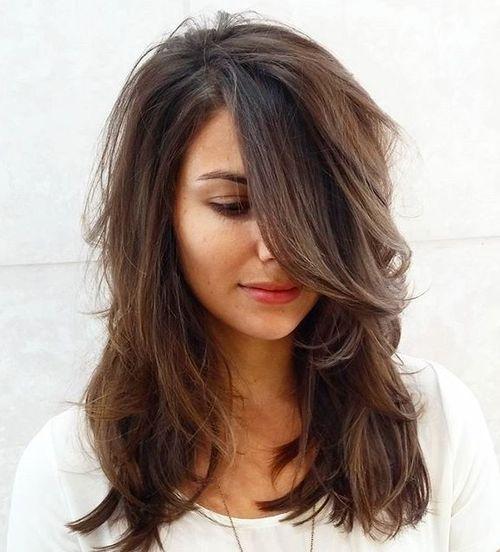 Layers Haircut With Bangs 51