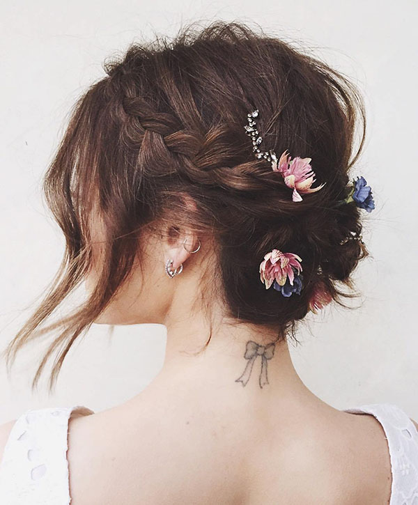 50 Best Short Wedding Hairstyles That Make You Say Wow Foliver Blog